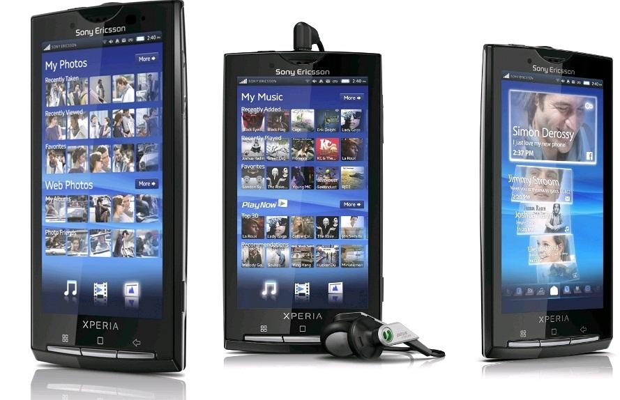 Photo of Sony Ericsson Xperia X10
