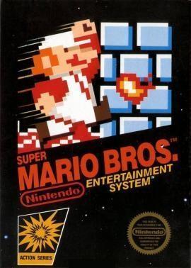 A capa da versão original do jogo, para a NES