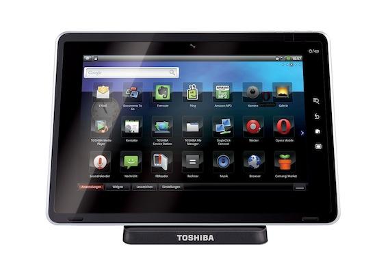 Photo of Tablet Toshiba Folio 100