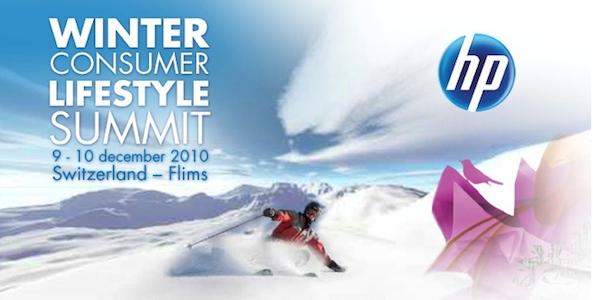 Photo of HP Winter Consumer Lifestyle Summit