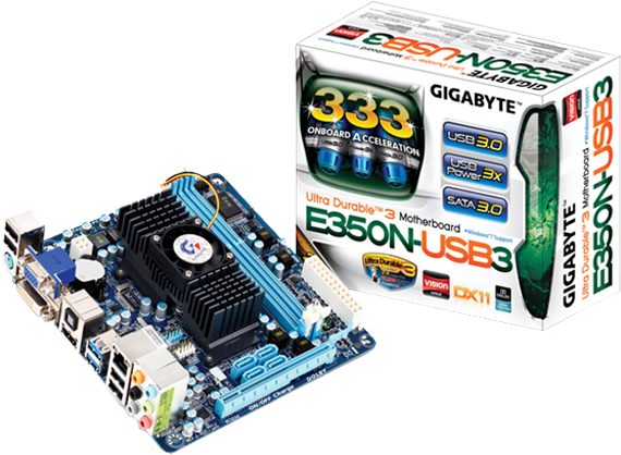 Photo of Gigabyte AMD GA-E350N-USB3