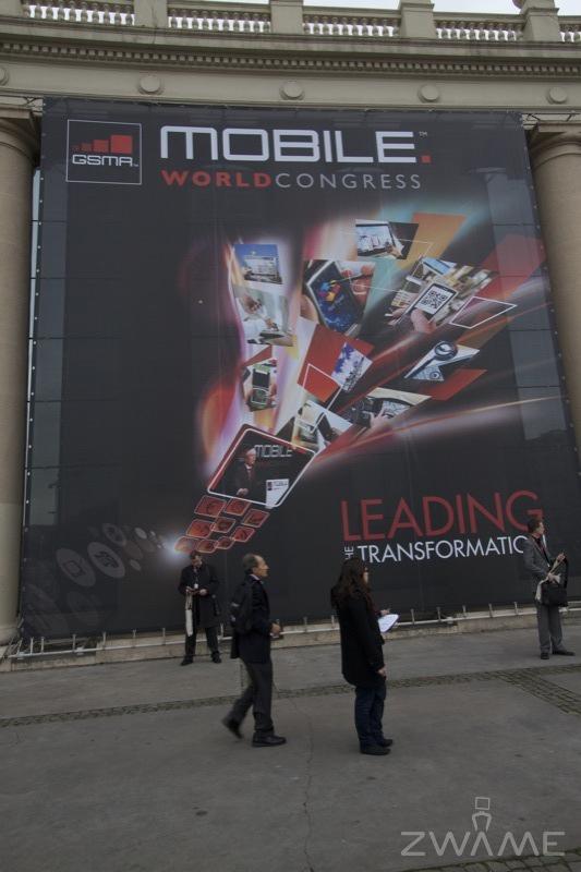 Photo of ZWAME no Mobile World Congress 2011