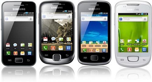 Photo of Samsung Galaxy Ace, Fit, Gio e mini