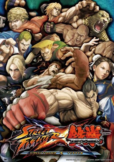 Street Fighter X Tekken - Poster oficial