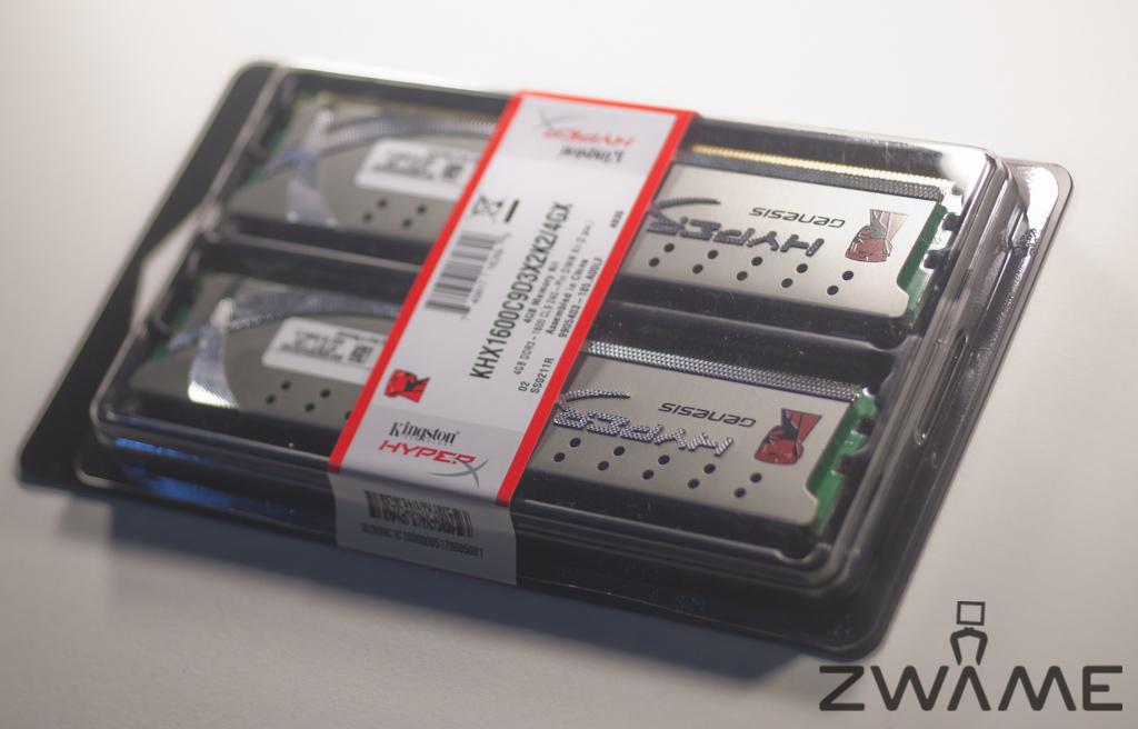 Photo of Kingston Genesis DDR3 1600