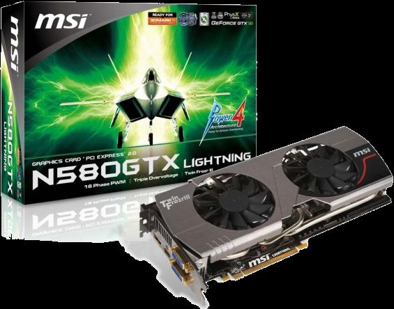 Photo of MSI GTX580 Lightning