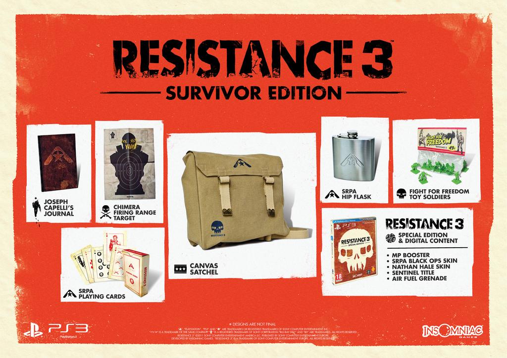 Photo of Resistance 3 Survivor Edition Trailer