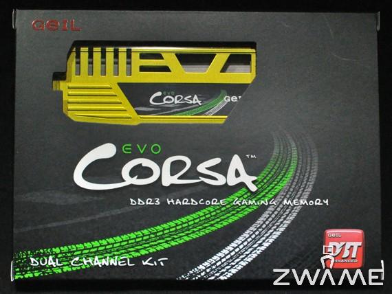 Photo of GEIL EVO CORSA 2133MHz CL9 8GB DDR3