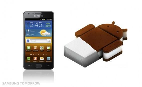 Photo of Android 4.0 para o GALAXY S II anunciado pela SAMSUNG