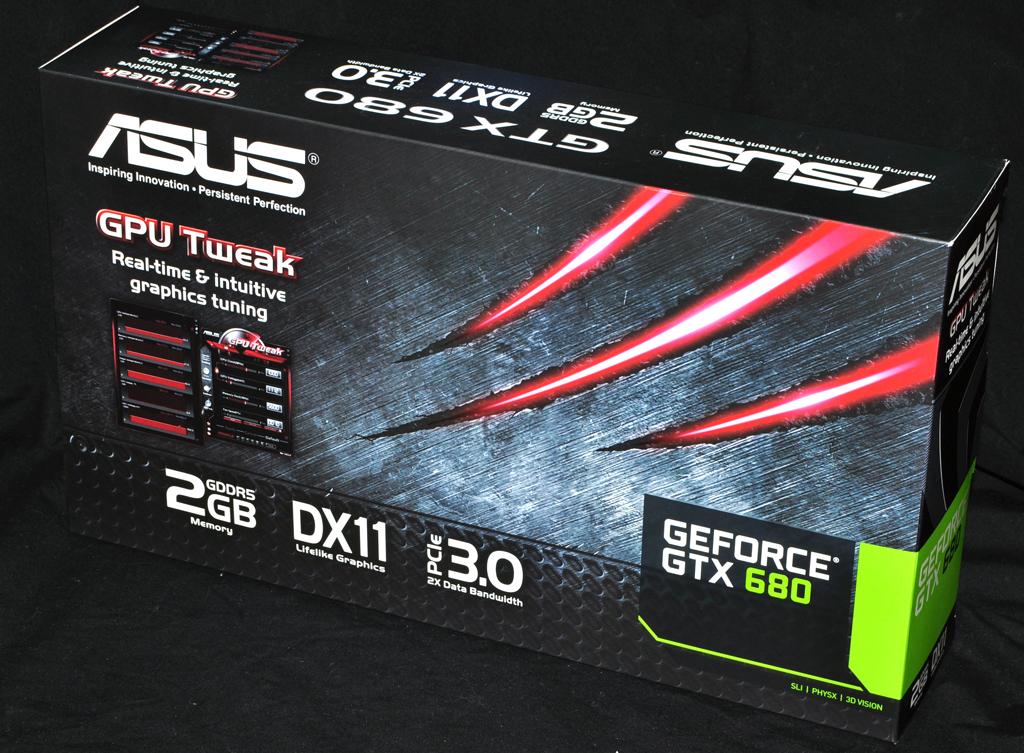 Photo of ASUS Nvidia GTX680