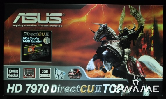 Photo of ASUS HD7970 DCII TOP