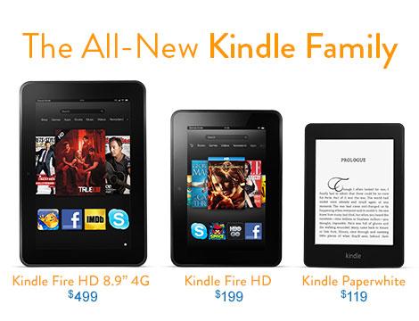 Photo of Amazon renova e anuncia versões do Kindle