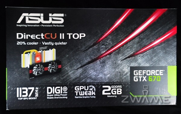 Photo of nVIDIA ASUS GTX 670 DirectCUII