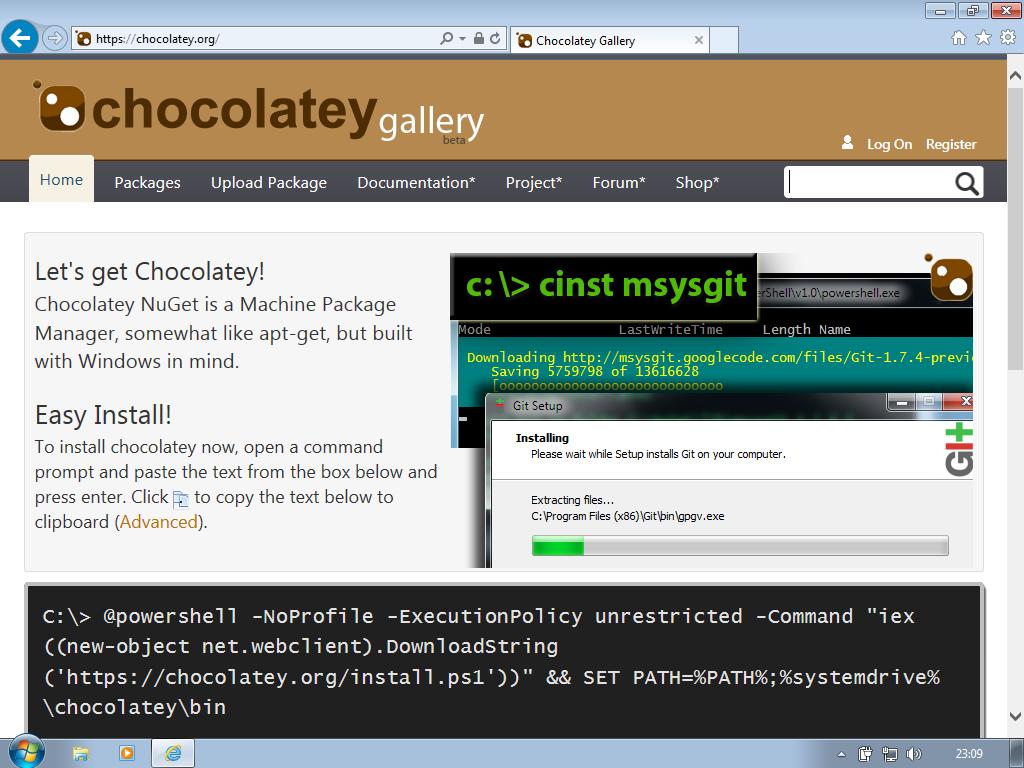 Chocolatey: Windows Package Manager – ZWAME Portal