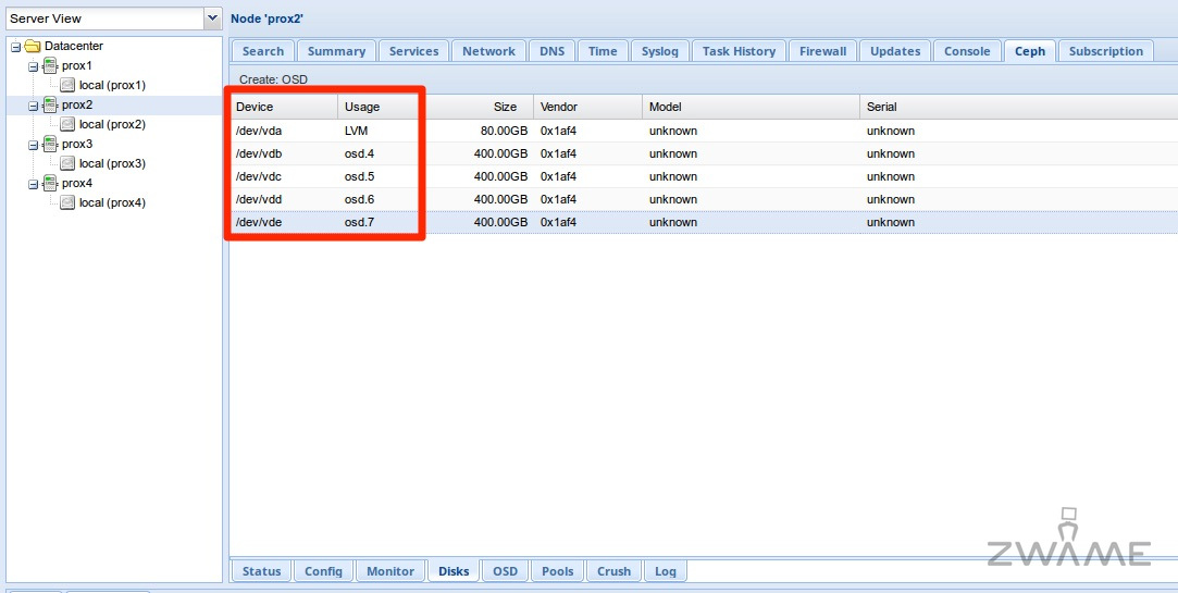Proxmox + Ceph: Virtualização hiperconvergente – Página 7 – ZWAME Portal