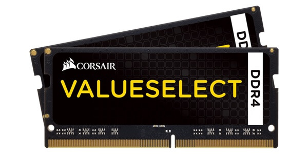 Photo of Corsair ValueSelect 2x8GB DDR4 SODIMM 2133MHz