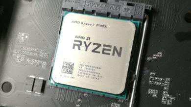 Photo of Ryzen 7 2700X